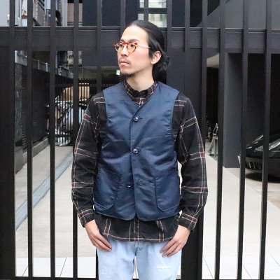 THE CONSPIRES * Mil Vest Reversible - Navy
