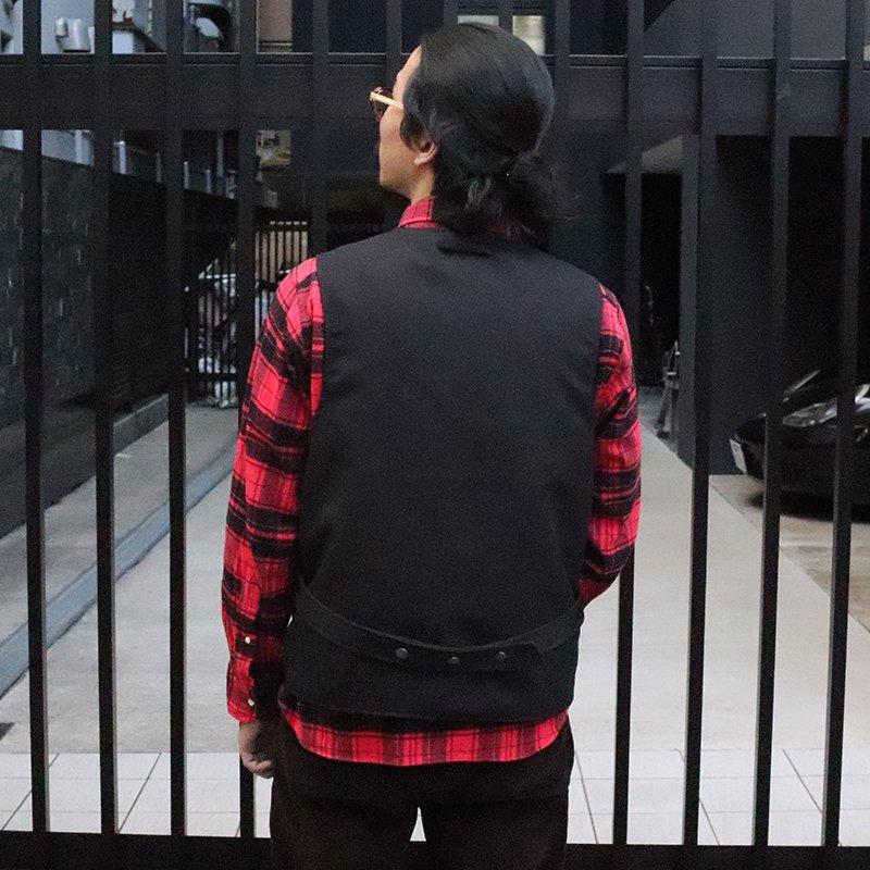 THE CONSPIRES * Mil Vest Reversible - Black