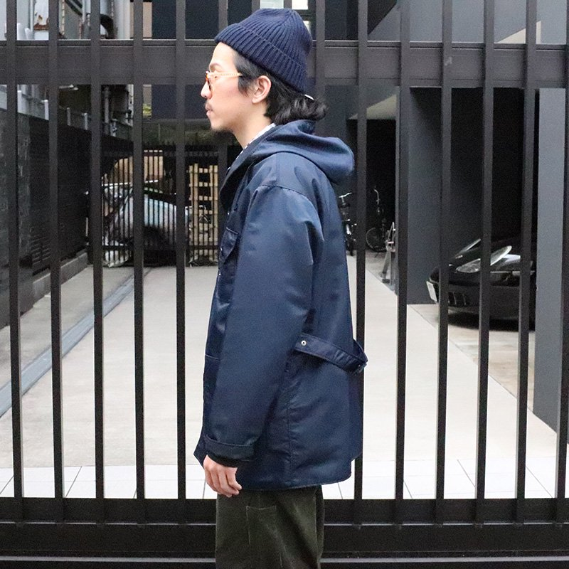 THE CONSPIRES *  Mil Parka Reversible - Navy