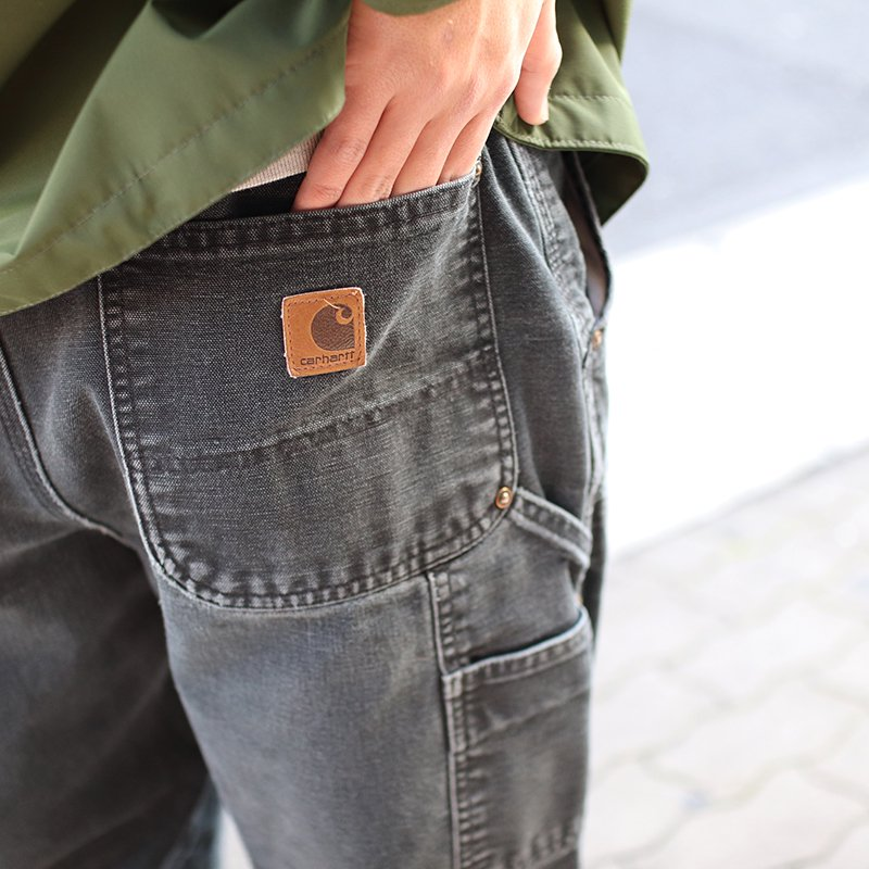 Sunny Side Up * Remake Tapered Duck Pants - Black