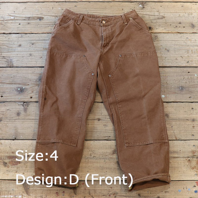 Sunny Side Up * Remake Tapered Duck Pants - Brown