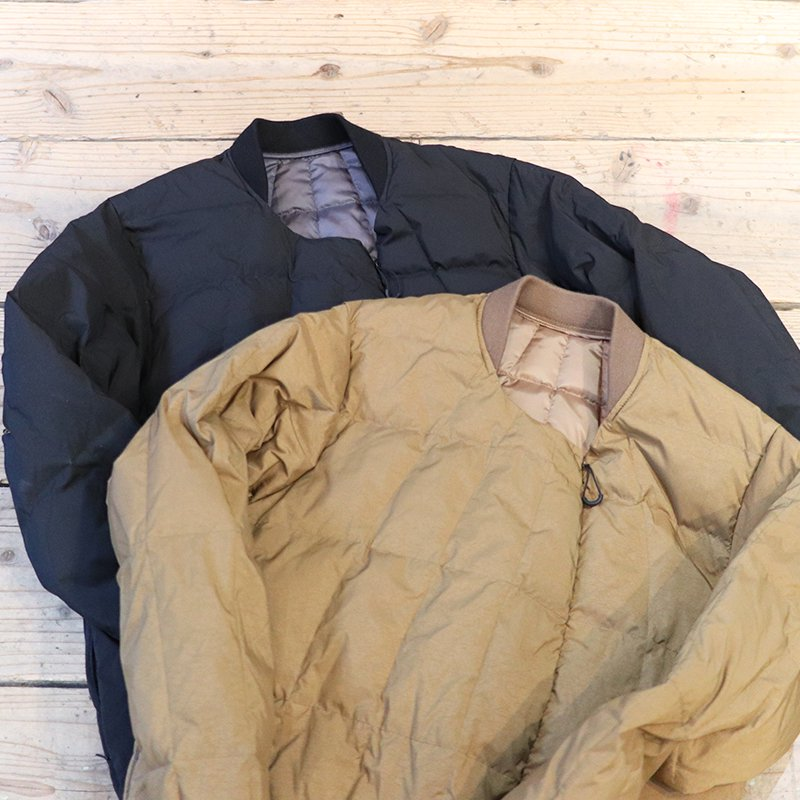 norbit * VENTILATION SIDE SLIT INNER DOWN JACKET - BROWN