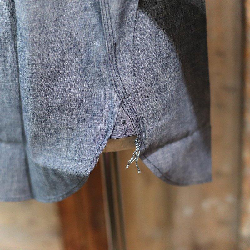 POST OVERALLS * 1102 Shirt - chambray