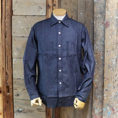 POST OVERALLS * 1102 Shirt - light denim