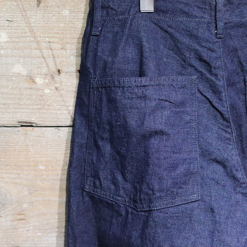 POST OVERALLS * New Maker Pants - 8oz denim
