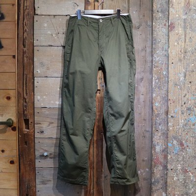 POST OVERALLS * New Maker Pants - fine heringbone / olive