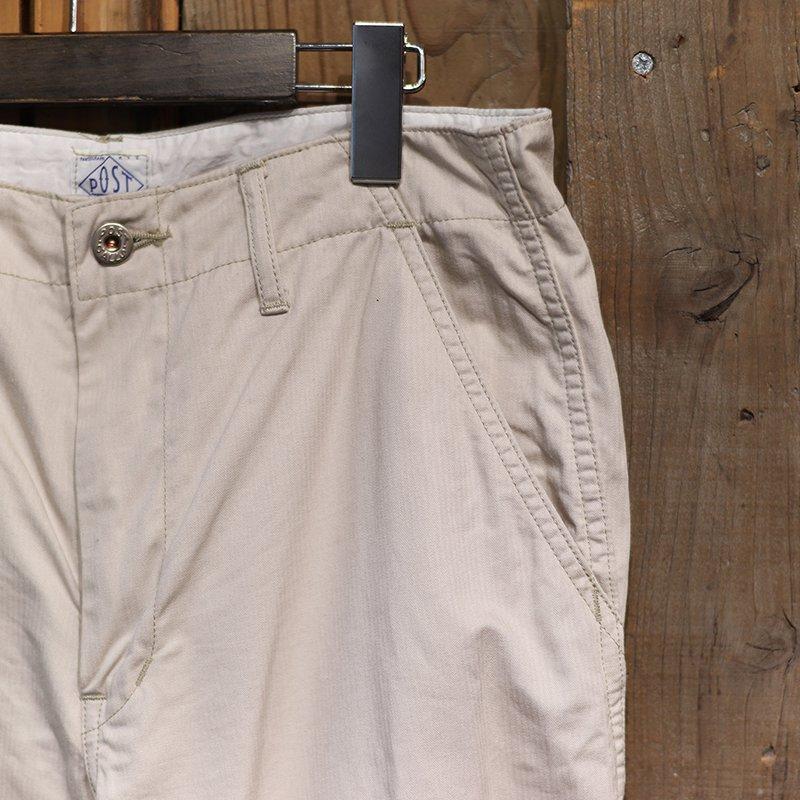 POST OVERALLS * New Maker Pants - fine heringbone / khaki