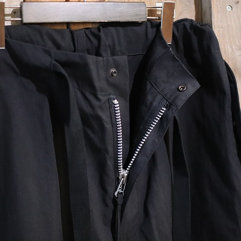 Quilp * HUNT (LONG) - BLACK ARMYCLOTH