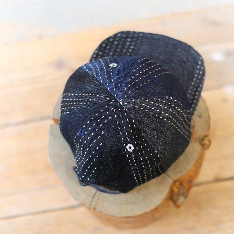 FUNSET OF ART * デニム刺し子 CAP