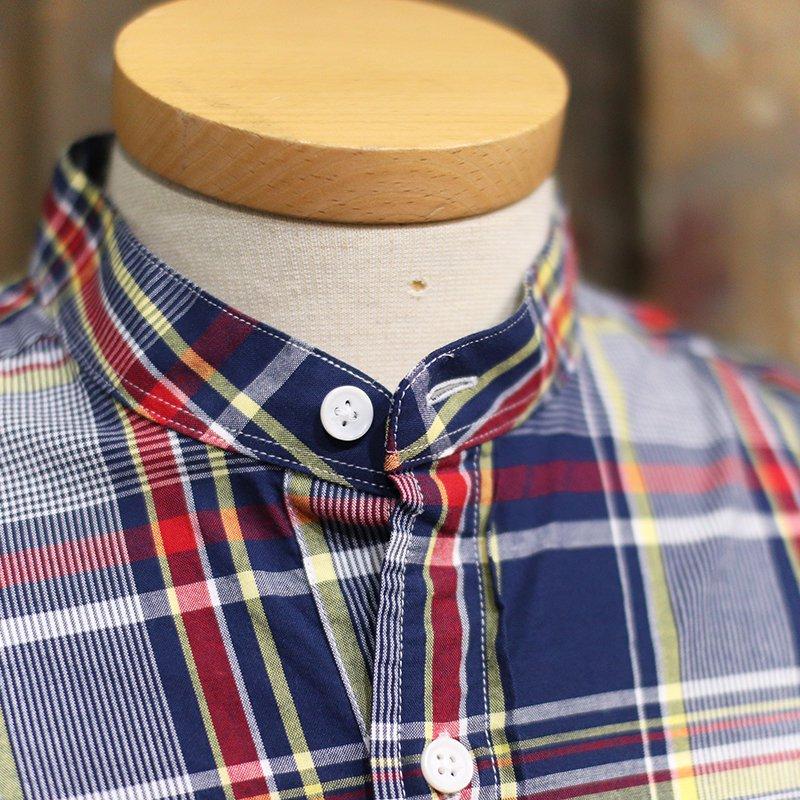 GRANDAD SHIRTS * Irish Grandad Shirts - Navy