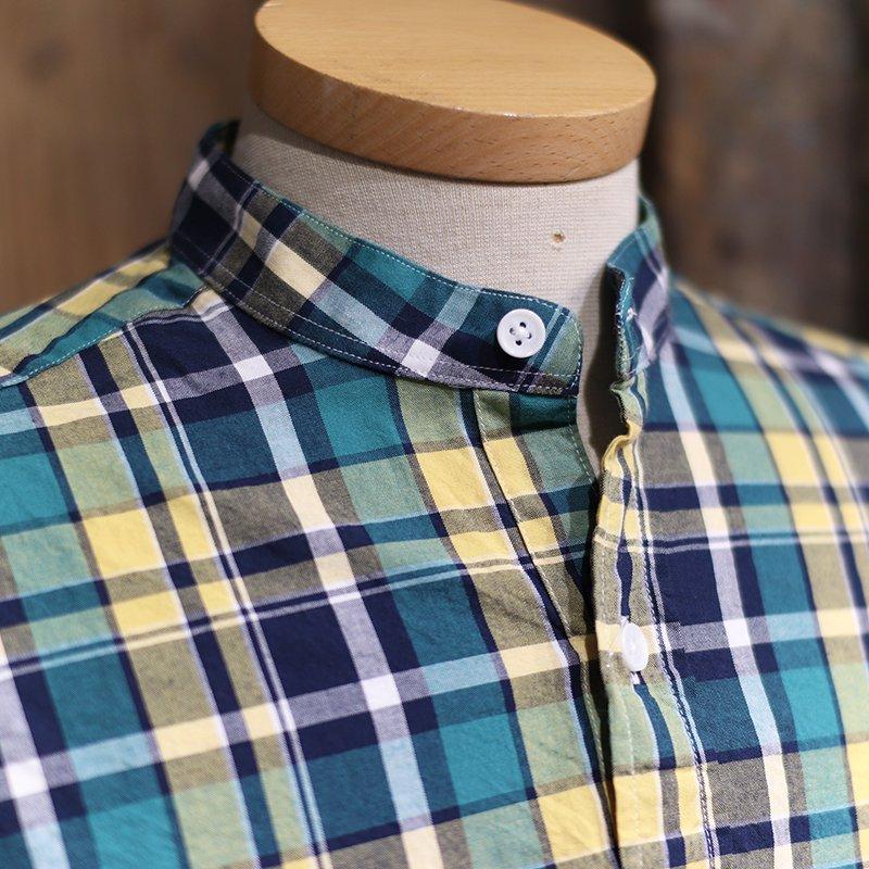 GRANDAD SHIRTS * Irish Grandad Shirts - Green