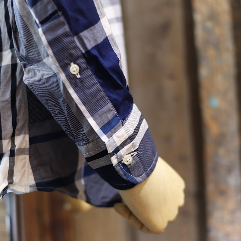 INDIVIDUALIZED SHIRTS  * Multi Check B.D -Classic Fit-