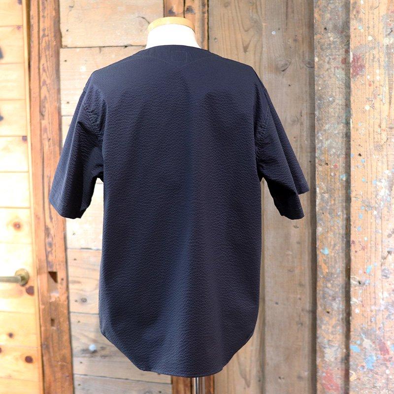 POST OVERALLS * BDU Shirt - P/C Seersucker-Navy