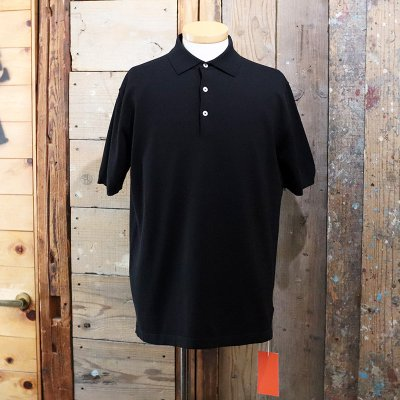 ANDERSEN-ANDERSEN * POLO SHORT-BLACK