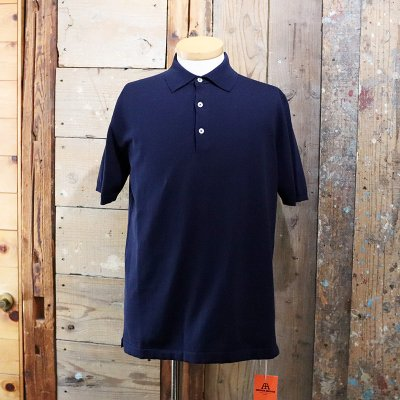 ANDERSEN-ANDERSEN * POLO SHORT-NAVY