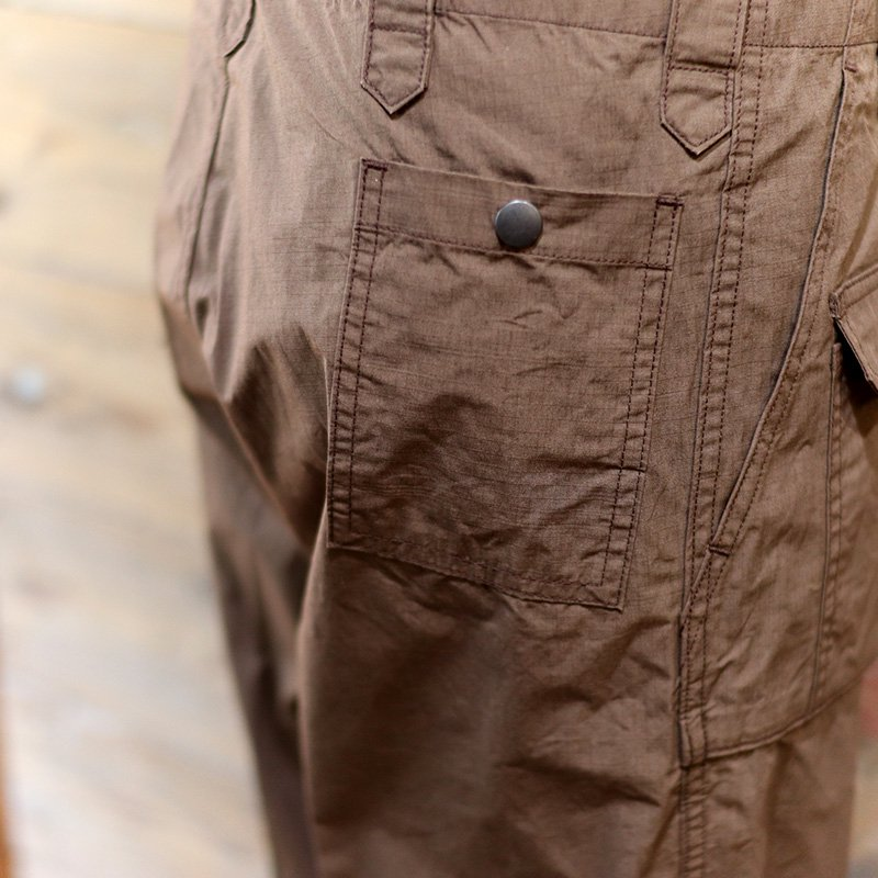 Tehu Tehu * Butterfly Hunting Trousers 4th / Brown