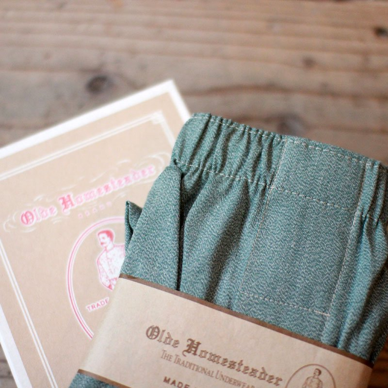 Olde Homesteader * OLDE COVERT CHAMBRAY - Green