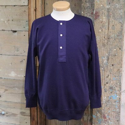 Olde Homesteader * HENRY NECK LS -Interlock- / Navy