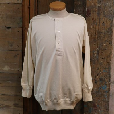 Olde Homesteader * HENRY NECK LS -Interlock- / Ivory