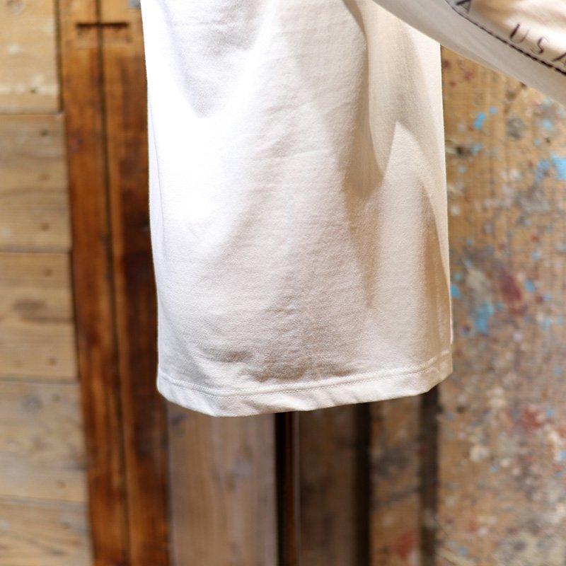 MOCEAN * WHEEL T Shirts L/S  White