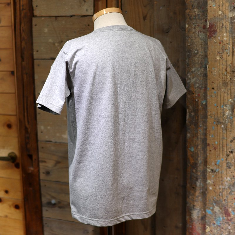 MOCEAN * BOX LOGO  T Shirts S/S   Heather Gray