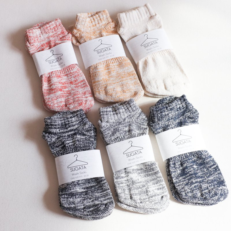 SUGATA LABO * Washi Socks