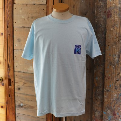 "CORONA * ""DUCK HUNTER ONLY""  PRINT TEE - Light Blue"