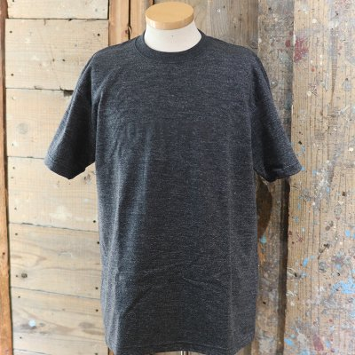 "CORONA * ""UTILITY""  PRINT TEE - BLACK HEATHER"