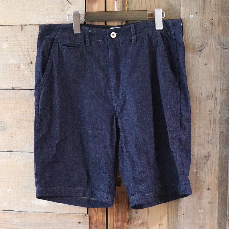 POST OVERALLS * New Maker Shorts - 8oz denim