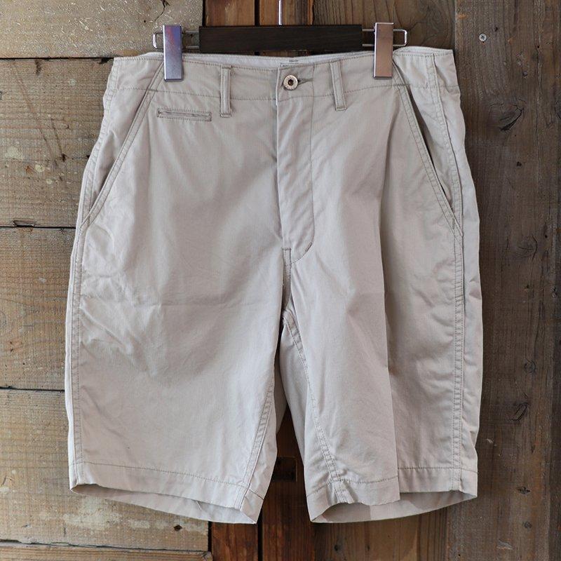 POST OVERALLS * New Maker Shorts - fine heringbone / khaki