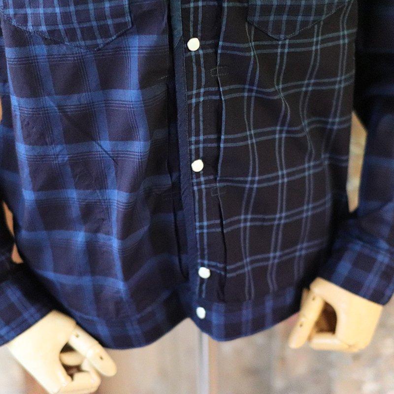 FUNSET OF ART * IDGチェック RODEOブルゾンシャツ