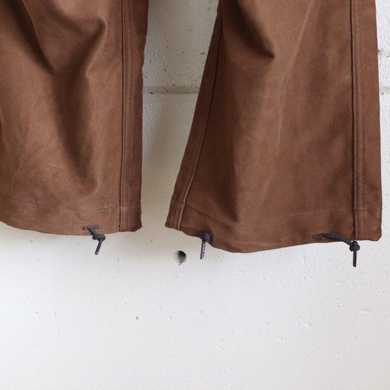 Quilp * LLOYD(Medium) Hunting Brown  Moieskin