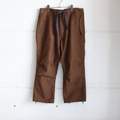 Quilp * LLOYD(Medium) Hunting Brown  Moieskin