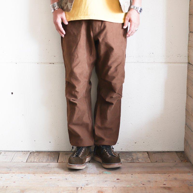 Quilp * LLOYD(Long) Hunting Brown  Moieskin