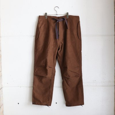 Quilp * LLOYD(Long) Hunting Brown  Moieskin