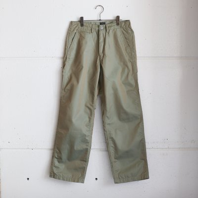 POST OVERALLS * Double Needle Chino-R French Twill Olive