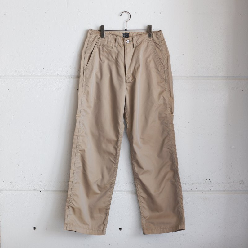 POST OVERALLS * Double Needle Chino-R French Twill Khaki