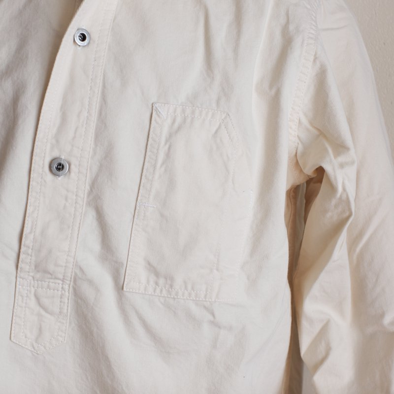 POST OVERALLS * No.1 Shirt    Cotton Twill  Natural
