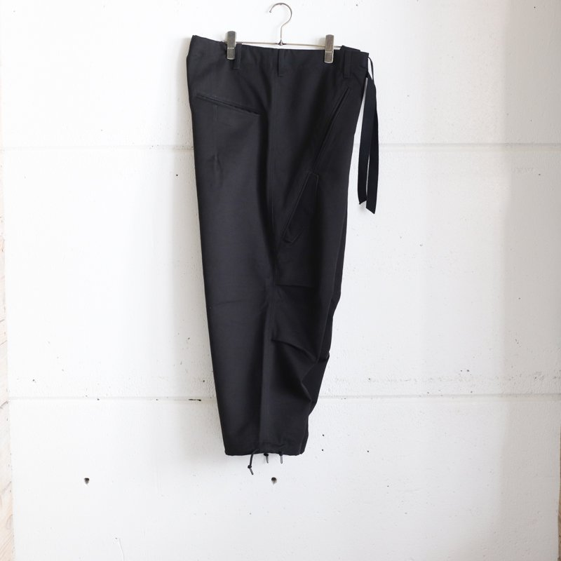 Quilp * Quilp x EESETT&Co   ALFORD (Medium) -  Black Twill