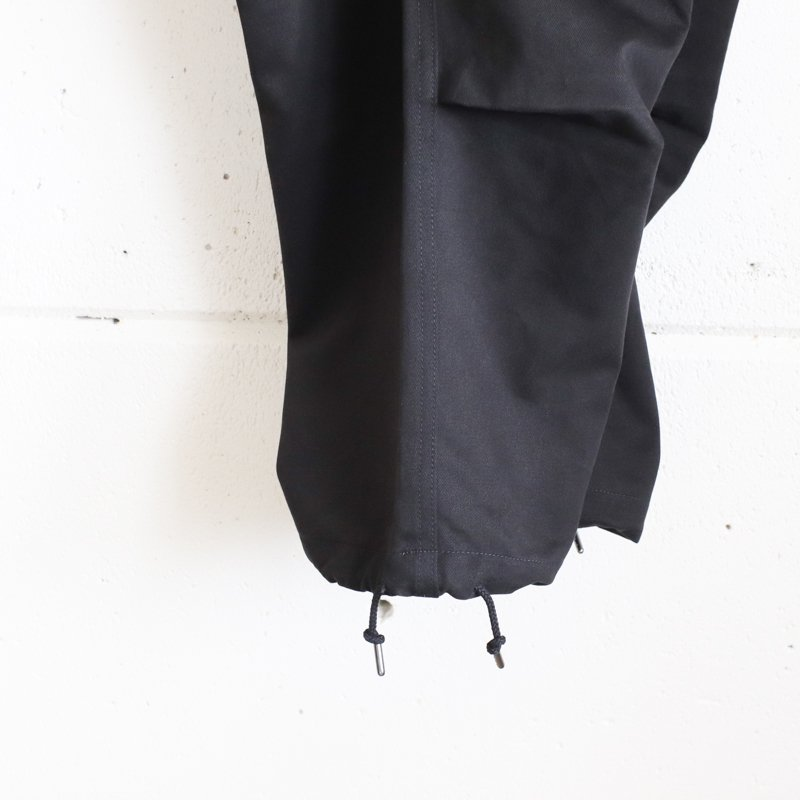Quilp * Quilp x EESETT&Co   BISSONETTE (Long) -  Black Twill