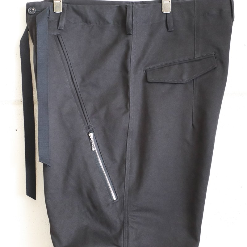 Quilp * Quilp x EESETT&Co   ALFORD (Long) -  Black Twill