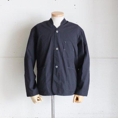POST OVERALLS * Banana Collar Jacket-R  Black Twill