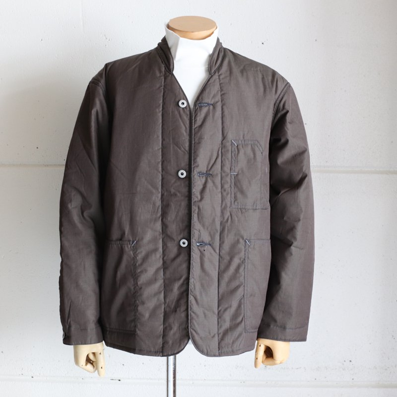 POST OVERALLS * Banana Collar Jacket-R  EOE Brown