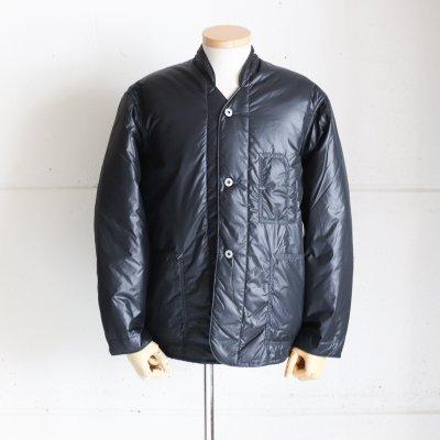 POST OVERALLS * Banana Collar Jacket-R   Nylon Taffeta  Black