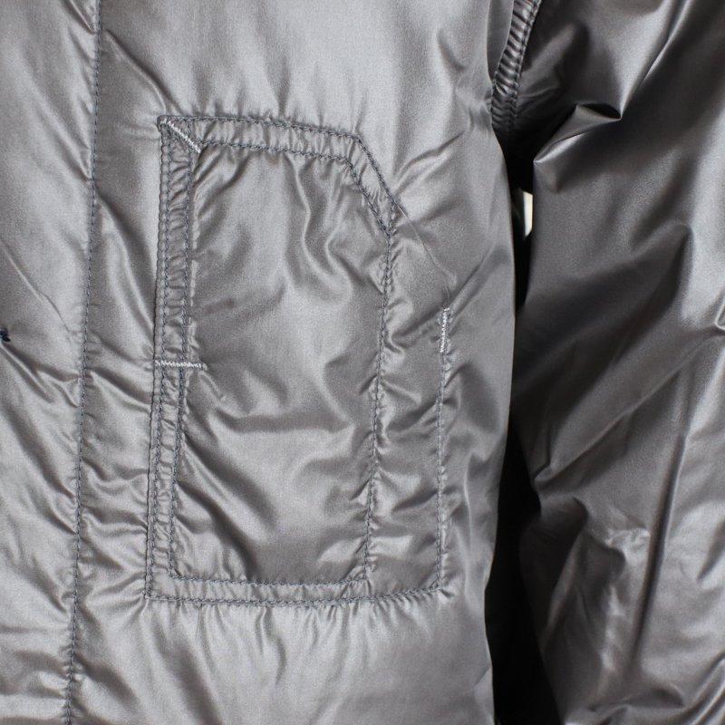 POST OVERALLS * Banana Collar Jacket-R   Nylon Taffeta  Grey
