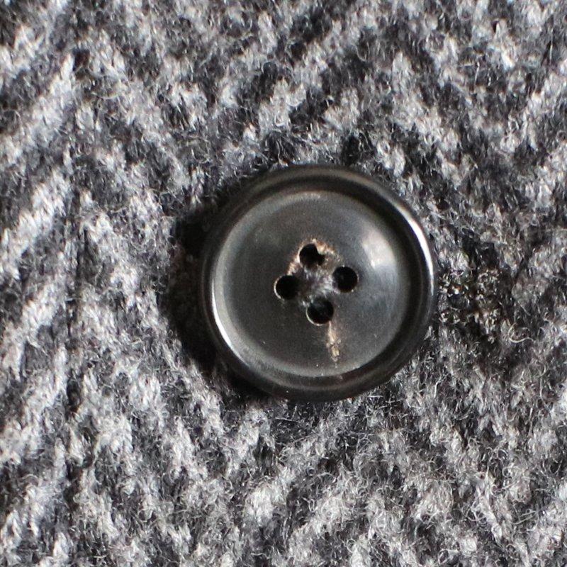 1ST PAT-RN * HIGHLAND JACKET Melton Knit Herringbone