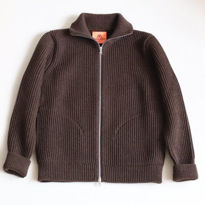 ANDERSEN-ANDERSEN * THE NAVY 1/1 ZIP POCKET 5GG Natural Brown