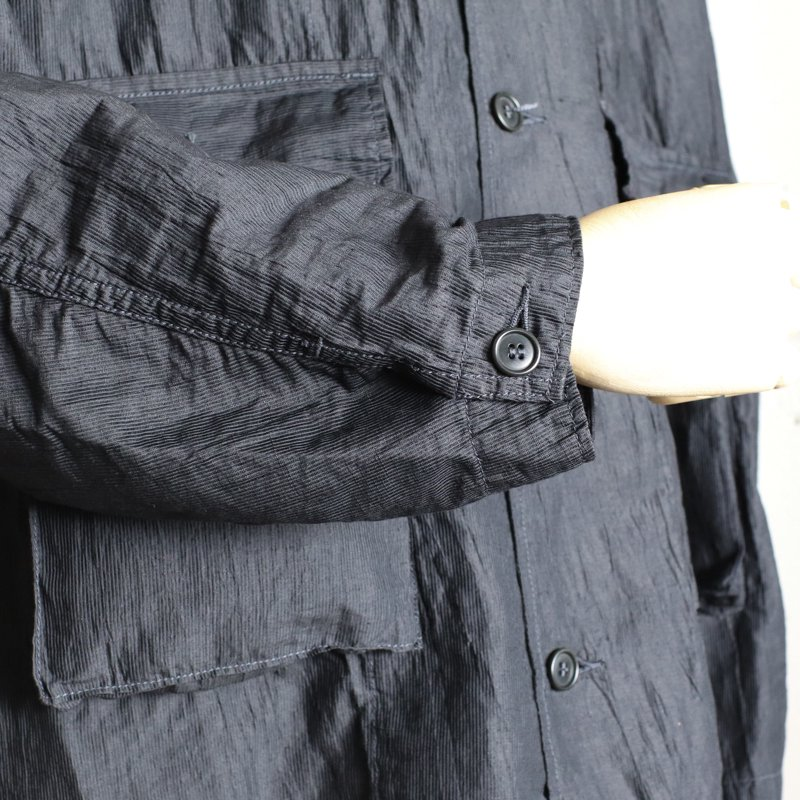 POST OVERALLS * WALKABOUT2 Crinkle Linen/Cotton   Charcoal