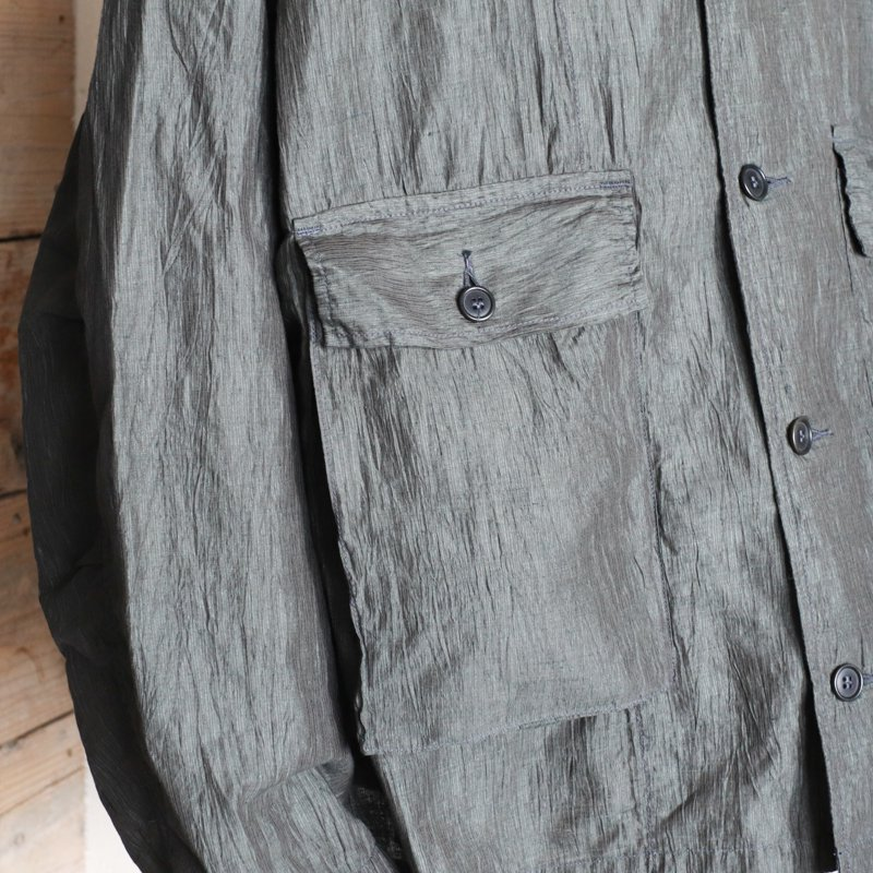 POST OVERALLS * WALKABOUT2 Crinkle Linen/Cotton   Olive