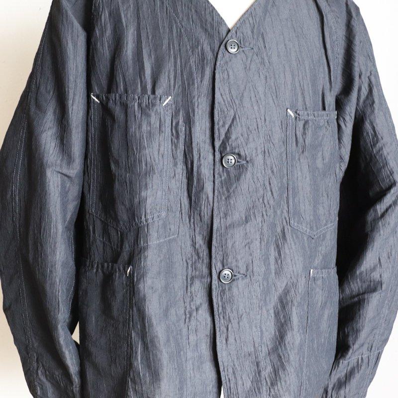 POST OVERALLS * POST42 DV Crinkle Linen/Cotton   Charcoal